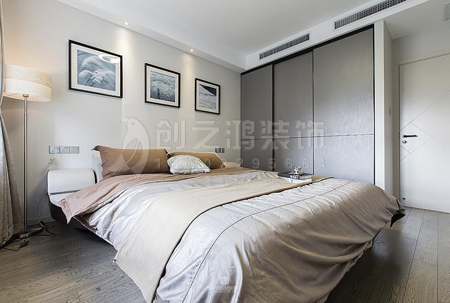 天津全运村三室两厅现代简约风格装修效果图
