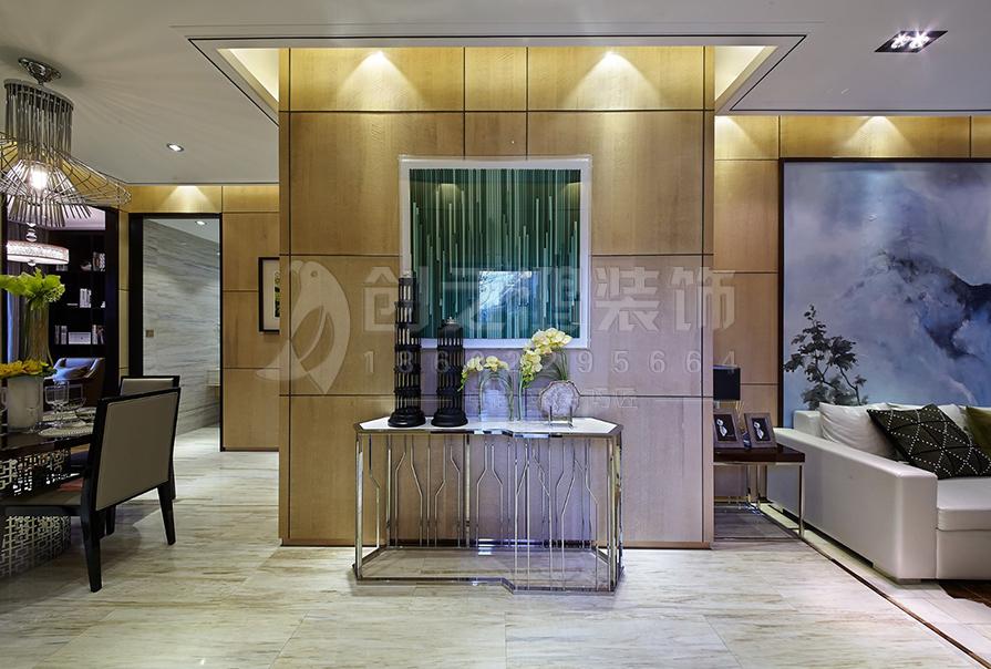 天津全运村164㎡四室二厅现代风格装修效果图