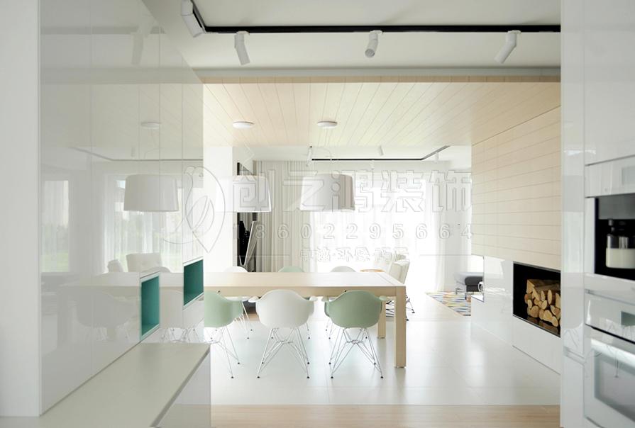 路劲太阳城83㎡二室二厅北欧风格装修效果图