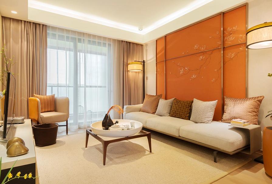 天房天泰99㎡二室二厅现代风格装修效果图