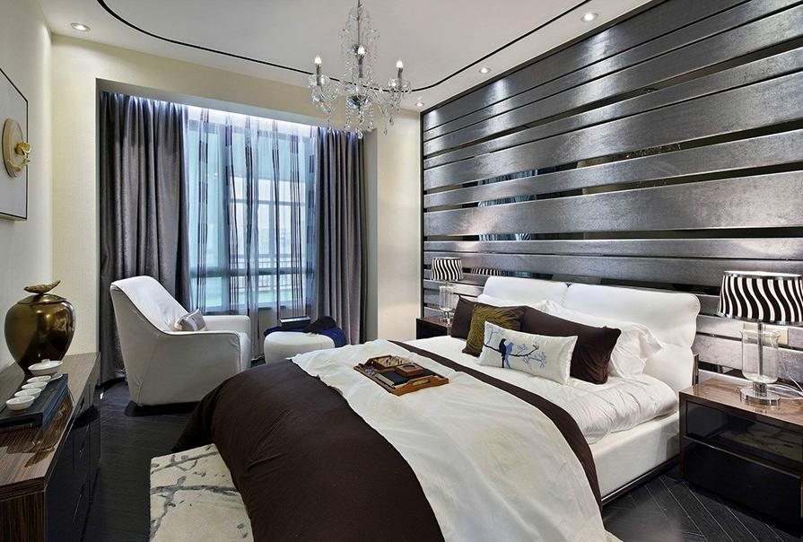天房天泰95㎡二室二厅现代风格装修效果图