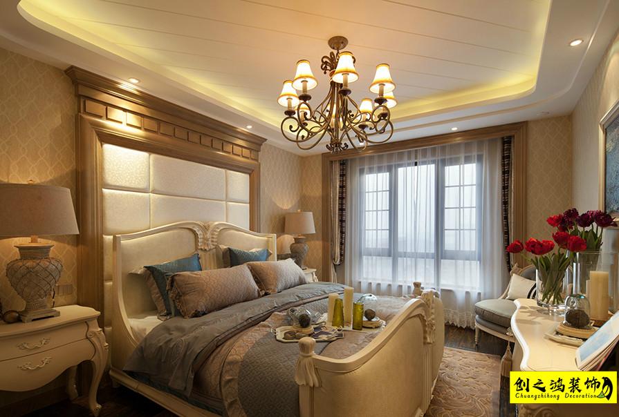 海河大观客卧室