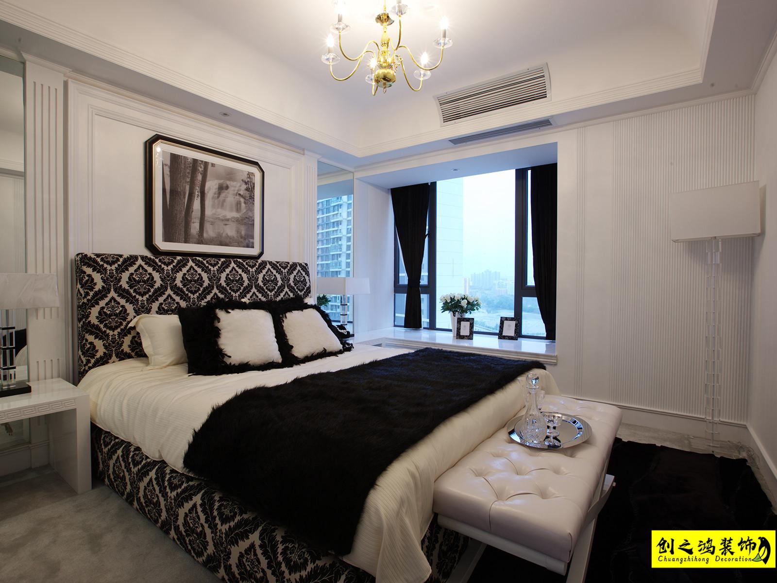 140㎡金地艺城瑞府三室两厅现代简约风格装修效果图