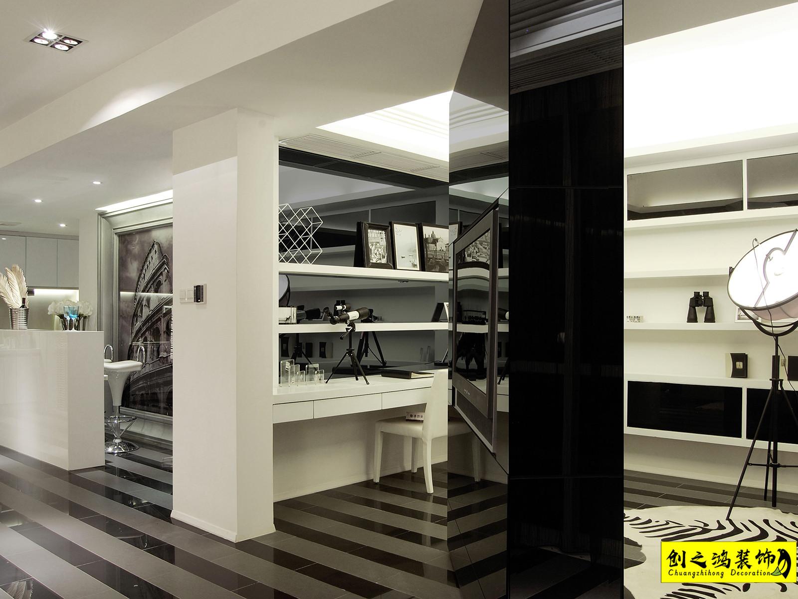 117㎡恒大御景湾三室两厅现代简约风格装修效果图