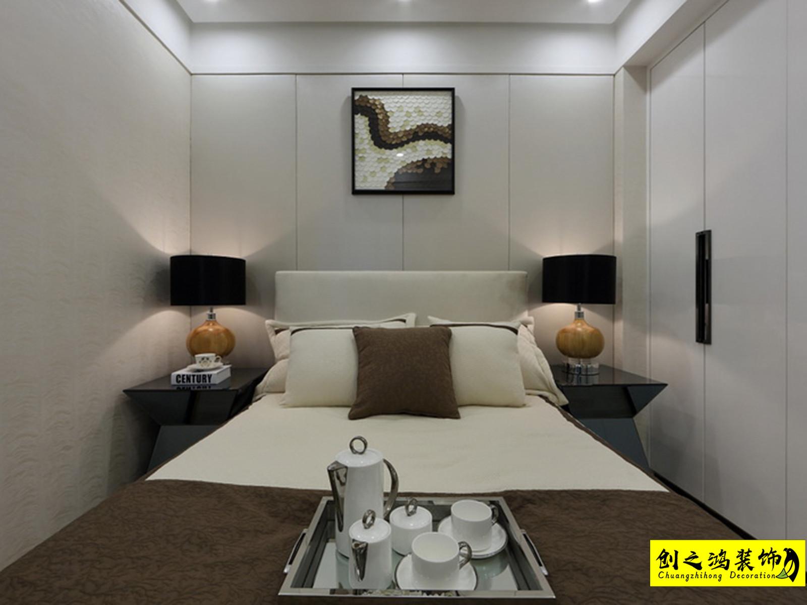 86㎡格调绮园二居室现代简约风格装修效果图