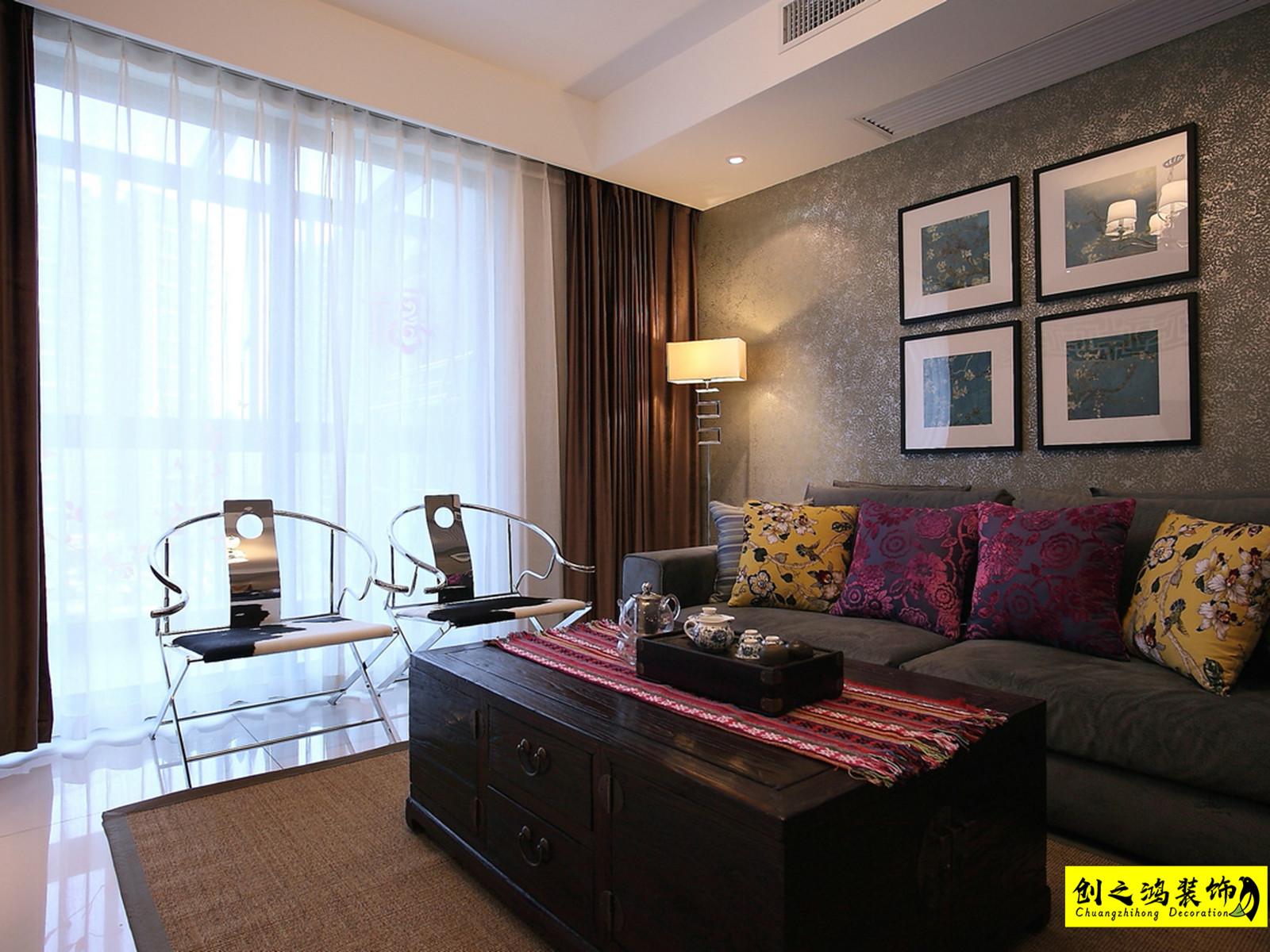 126㎡融侨观澜三室两厅现代简约风格装修效果图