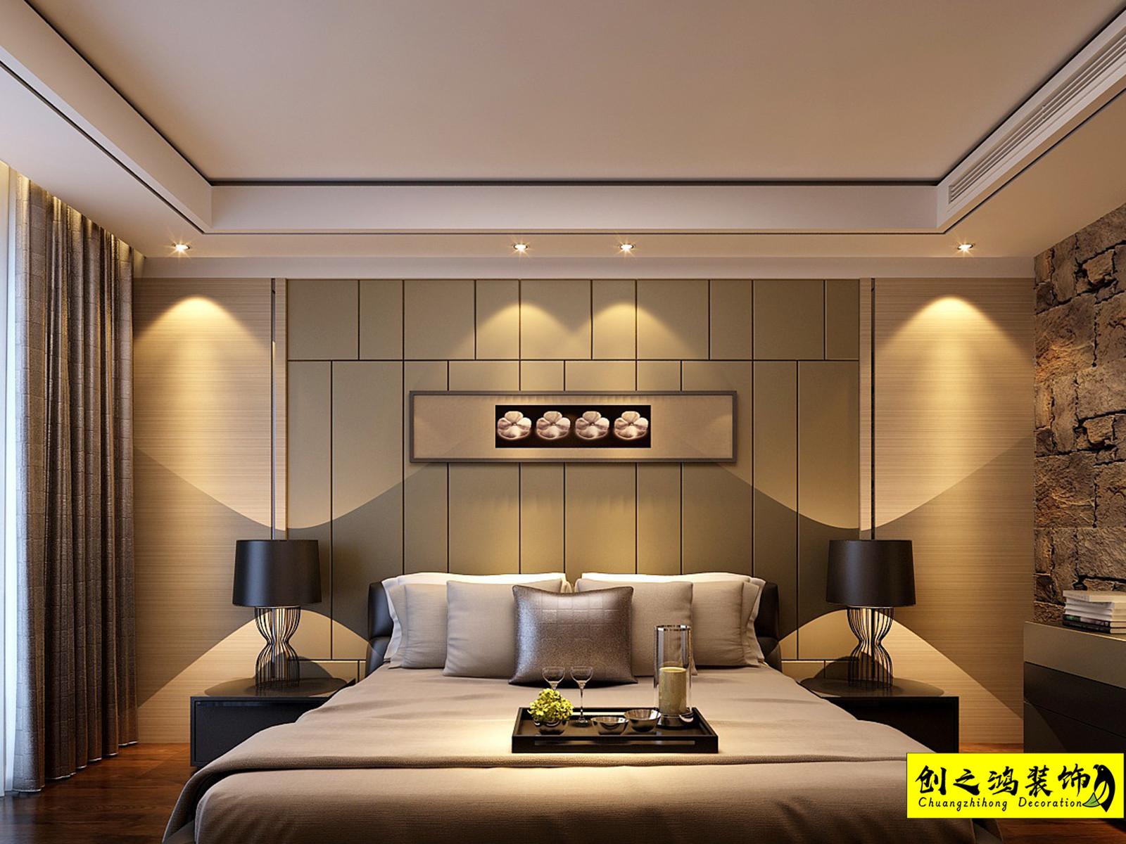 112㎡天房璟悦府三室两厅现代简约风格装修效果图