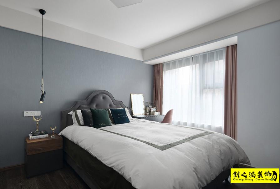 松江东湖小镇卧室