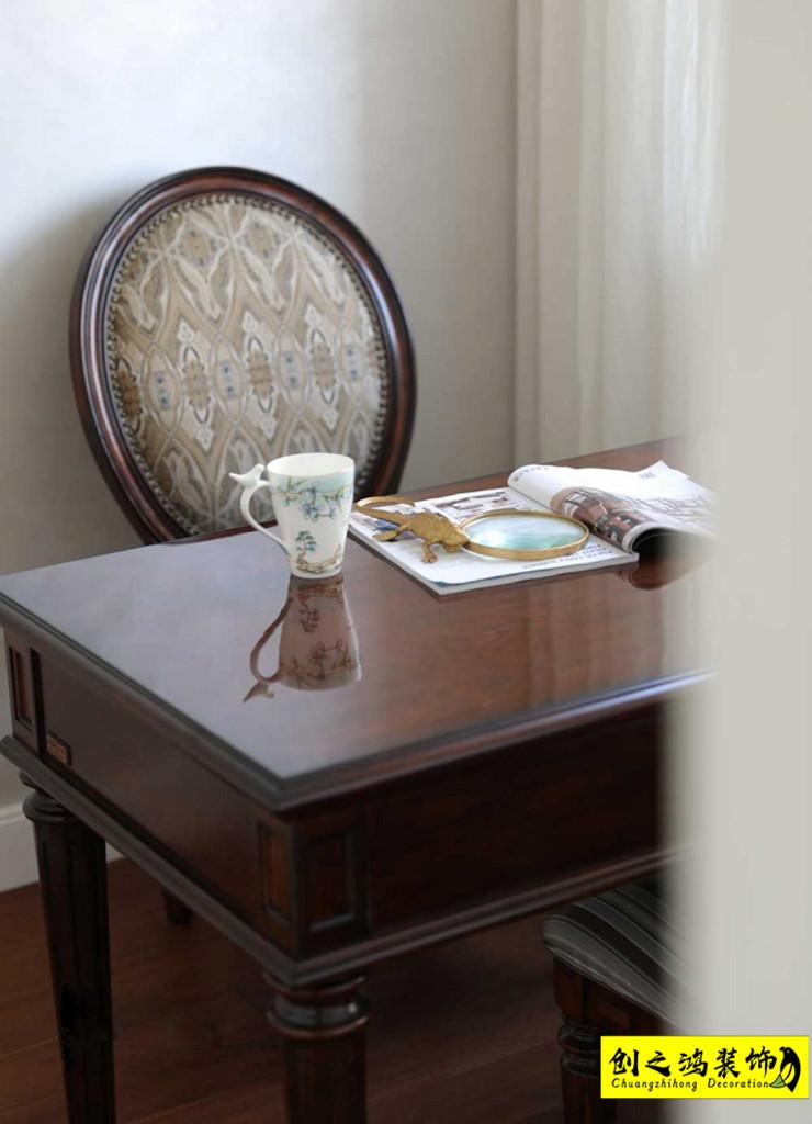创之鸿案例,三室两厅效果图,天津装修公司
