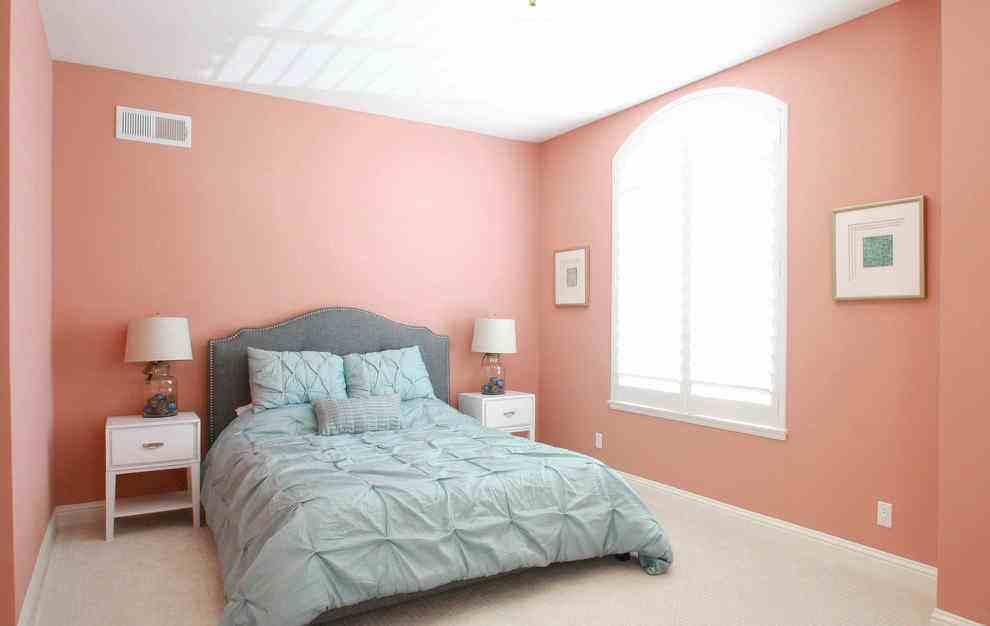 卧室墙面颜色,南开装饰公司