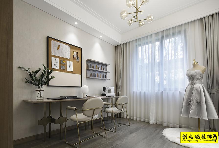三室两厅效果图,天津装修公司,创之鸿案例