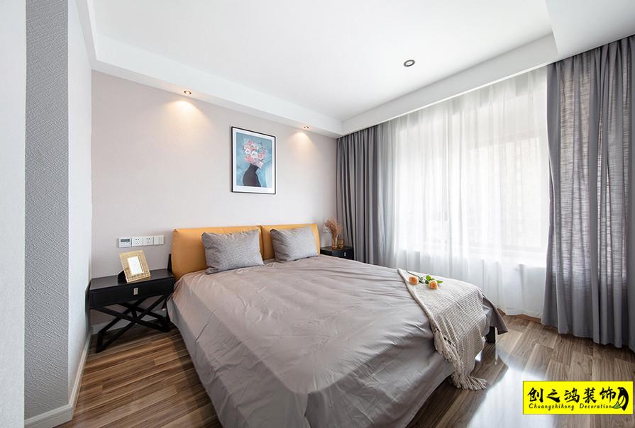 天津84㎡天房天泰两室两厅北欧风格装修效果图