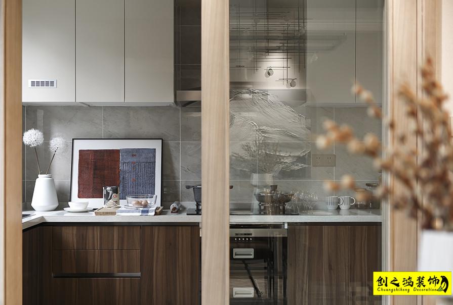 天津195㎡融创融园四室两厅现代简约风格装修效果图