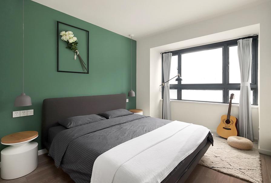 天房中山路现代简约效果图,天房中山路两室两厅现代简约风格装修效果图